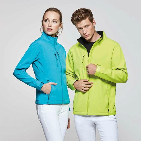 SoftShell Jacken aus leichten Materialien hergestellt, luftig und wasserdicht sind